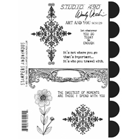 Picture of Wendy Vecchi Cling Rubber Stamp - Art & You