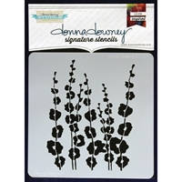 Εικόνα του Donna Downey Signature Stencils - Poppy Stems
