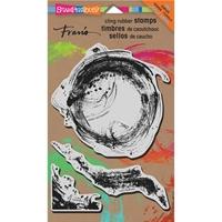 Εικόνα του Stampendous Fran's Σετ Σφραγιδες Cling - Brush Strokes