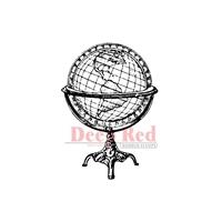 Εικόνα του Σφραγιδα Rubber Deep Red - Antique Globe