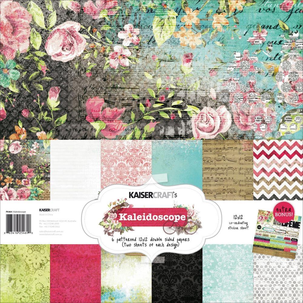 Kaisercraft Paper Pack 12 Quot X12 Quot Kaleidoscope