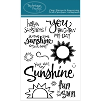 Picture of Technique Tuesday Clear Stamps - Hello Sunshine