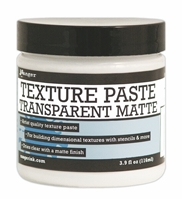 Picture of Ranger Texture Paste 4oz. Transparent Matte