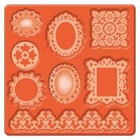 Εικόνα του Καλουπια Σιλικόνης Mod Podge - Ornaments