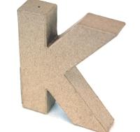 Εικόνα του 3D Γράμματα 10cm Γράμματα - K