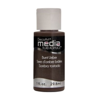 Εικόνα του Ακρυλικά DecoArt Media Fluid Acrylics - Burnt Umber