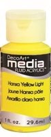 Εικόνα του Ακρυλικά DecoArt Media Fluid Acrylics - Hansa Yellow Light