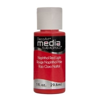 Εικόνα του Ακρυλικά DecoArt Media Fluid Acrylics - Napthol Red Light