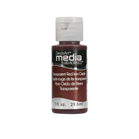Εικόνα του Ακρυλικά DecoArt Media Fluid Acrylics - Transparent Red Iron Oxide