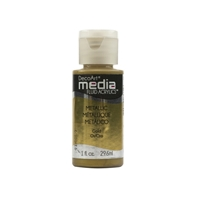 Εικόνα του Ακρυλικά DecoArt Media Fluid Acrylics - Metallic Gold