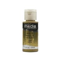 Εικόνα του Ακρυλικά DecoArt Media Fluid Acrylics - Metallic Gold