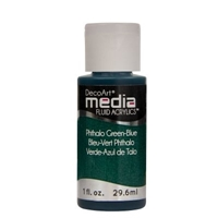 Εικόνα του Ακρυλικά DecoArt Media Fluid Acrylics - Phthalo Green Blue