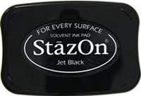 Picture of Stazon Ink Pad - Jet Black