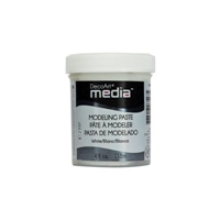 Εικόνα του DecoArt Media Modeling Paste White - Λευκο