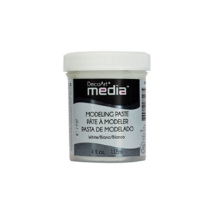 Picture of DecoArt Media Modeling Paste White - Λευκο