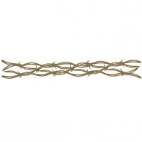 Εικόνα του Chipboard - Barbed Wire Border 3