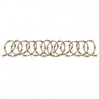 Picture of Chipboard - Barbed Wire Border 4