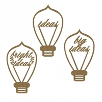 Εικόνα του Chipboard - Idea Bulbs