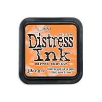 Picture of Distress Ink Carved Pumpkin