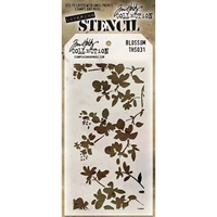 Picture of Layering Stencil Blossom - Tim Holtz