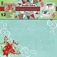 Εικόνα του Winter's Garden - Scrapbooking Paper Pack