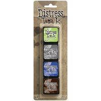 Εικόνα του Μελάνια Distress Ink Minis - Kit 14