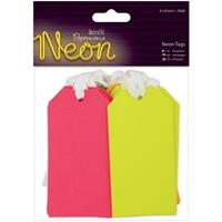 Εικόνα του Papermania  - Neon Tags