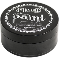 Picture of Dylusions Paint - Black Marble