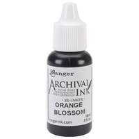 Picture of Archival Re-inker Orange Blossom