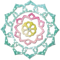 Εικόνα του Μήτρες Κοπής Thinlits - Frame Layers & Flower