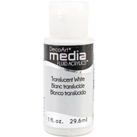 Εικόνα του Ακρυλικά DecoArt Media Fluid Acrylics - Translucent White
