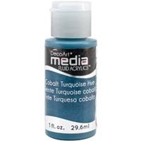 Εικόνα του Ακρυλικά DecoArt Media Fluid Acrylics - Cobalt Turquoise Hue