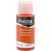 Εικόνα του Ακρυλικά DecoArt Media Fluid Acrylics - Pyrrole Orange