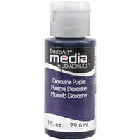 Εικόνα του Ακρυλικά DecoArt Media Fluid Acrylics - Dioxazine Purple