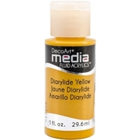 Εικόνα του Ακρυλικά DecoArt Media Fluid Acrylics - Diarylide Yellow
