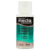 Εικόνα του Ακρυλικά DecoArt Media Fluid Acrylics - Interference Turquoise
