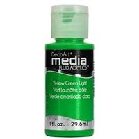 Εικόνα του Ακρυλικά DecoArt Media Fluid Acrylics - Yellow Green Light