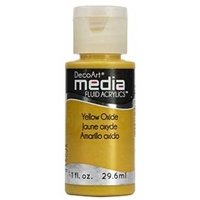 Εικόνα του Ακρυλικά DecoArt Media Fluid Acrylics - Yellow Oxide