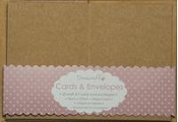Εικόνα του Dovecraft Cards & Envelopes: Kraft A7