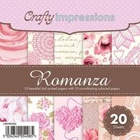 Picture of Crafty Impressions Paper Pad 6X6 - Romanza