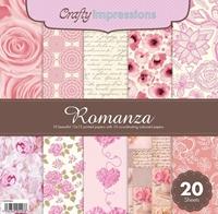 Picture of Crafty Impressions Paper Pad 12X12 - Romanza