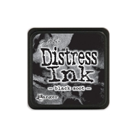 Εικόνα του Μελάνι Distress Ink Mini Black Soot