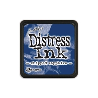 Εικόνα του Μελάνι Distress Ink Mini Chipped Sapphire