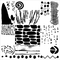 Picture of Crafter's Workshop Template 15x15 - Pebble Art