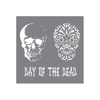 Εικόνα του Andy Skinner Mixed Media Stencil 20X20 - Day Of The Dead