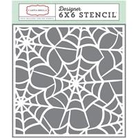 Εικόνα του Carta Bella Stencil 15X15 - Spider Webs
