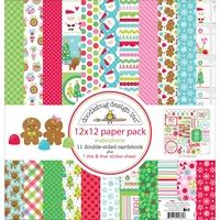 Εικόνα του Doodlebug Paper Pack 30.5Χ30.5 - Sugarplums