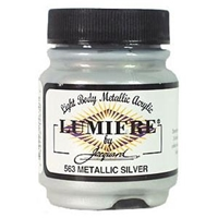 Εικόνα του Lumiere Metallic Acrylic Paint 2.25oz - Metalic Silver