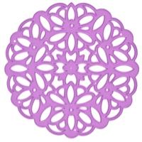 Εικόνα του Μήτρα Κοπής Purple Metal Die - Victorian Lace