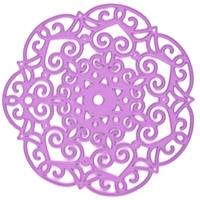 Εικόνα του Purple Metal Die - Embroidery Doily